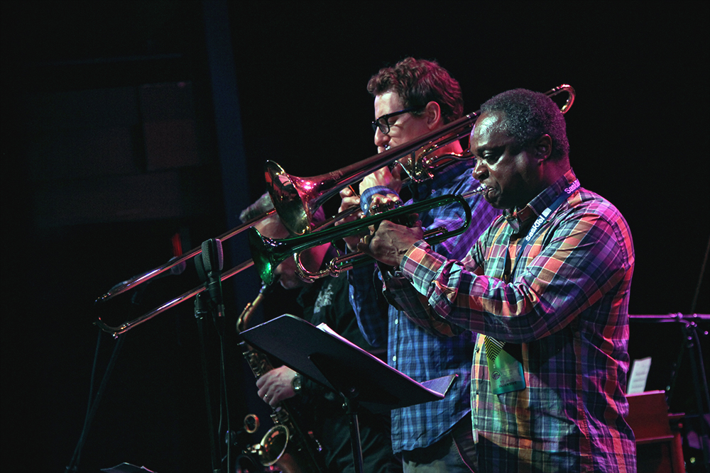 The Outer Bridge Ensemble. Photo by Bryn Becker.